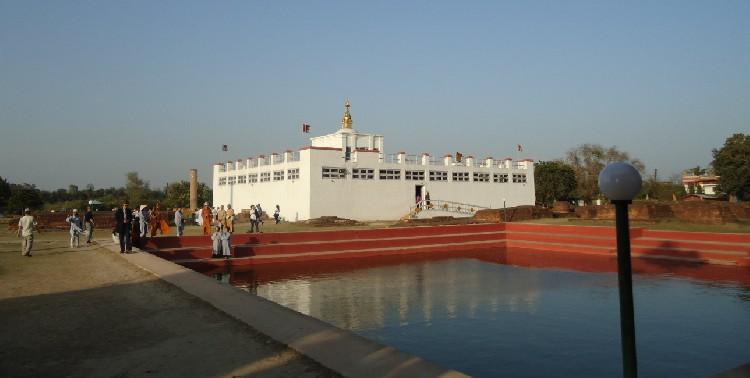 09. Đền thờ Hoàng hậu Maya và hồ nước thiêng